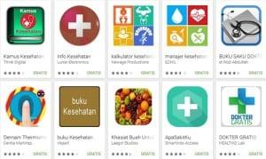 Aplikasi Kesehatan android terbaru