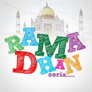 DP BBM Bulan Puasa Ramadhan ceria