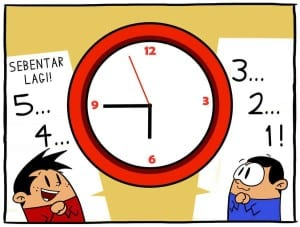 DP BBM Bulan Puasa Ramadhan nunggu berbuka puasa