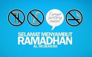 DP BBM Bulan Puasa Ramadhan persiapan ramadhan