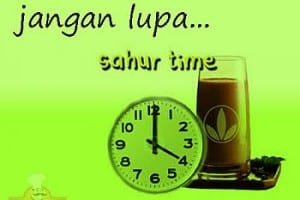 DP BBM Bulan Puasa Ramadhan sahur time