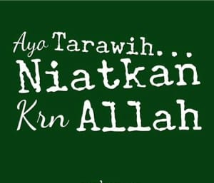 DP BBM Bulan Puasa Ramadhan tarawih