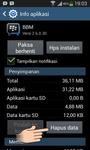 Delete Data Aplikasi bbm