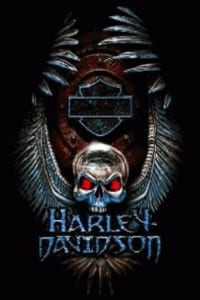 Harley davidson logo terbaru