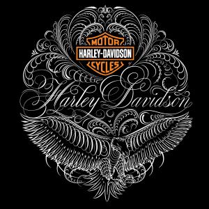 dp bbm Harley davidson logo