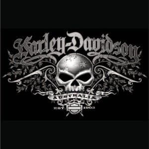 dp bbm Harley davidson logo terbaik