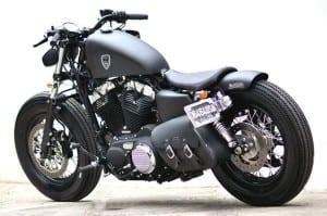 gambar Harley davidson antik