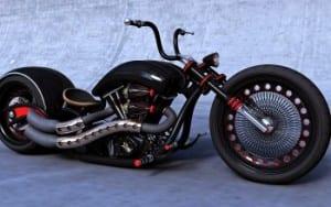gambar Harley davidson unik