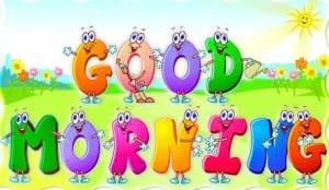 Animasi lucu ucapan selamat pagi