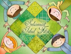 DP BBM Lucu Ucapan Idul Fitri terbaru