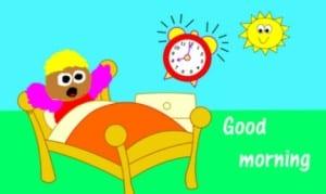 Dp bbm ucapan selamat pagi lucu banget