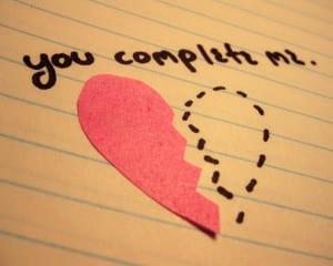 Gambar dp bbm mengatakan perasaan cinta