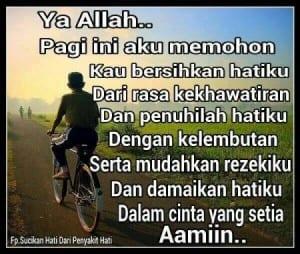 Gambar dp bbm motivasi pagi hari islami