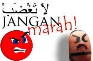 Gambar kata kata jangan marah