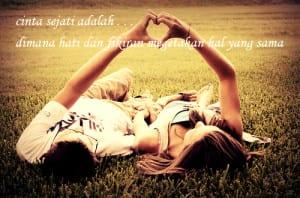 Gambar ungkapan cinta sejati