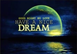 Have a nice dream