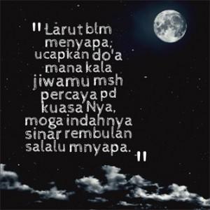 Puisi cinta sebelum tidur