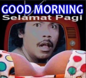 Ucapan selamat pagi lucu bikin ngakak