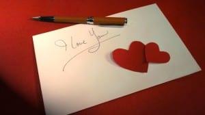 Ungkapan perasaan romantis