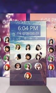 aplikasi tema android Lockscreen (Layar kunci foto)