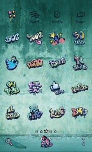 aplikasi tema terbaik Graffiti Dodol Theme