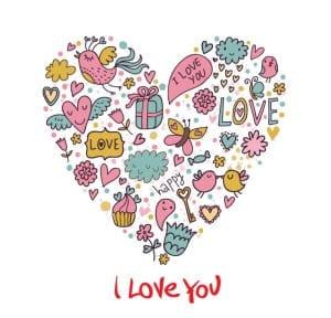 Animasi kata kata cinta romantis