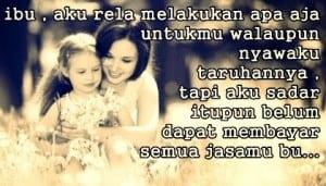 DP BBM Kata Kata Bijak kasih sayang ibu