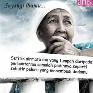 Kata kata bijak kasih sayang ibu kepada anaknya