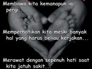 Kata mutiara ibu tercinta