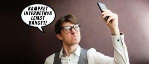 Meme marah sinyal lemot