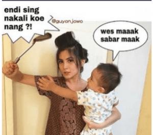 dp bbm bahasa jawa kocak banget