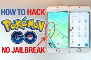 Cara hack pokemon go