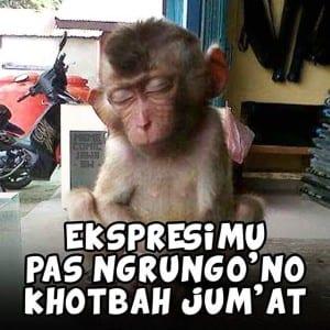Dp bbm meme bahasa jawa sholat jumat