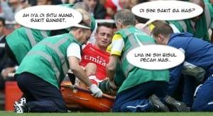 Gambar sepak bola kocak terbaru