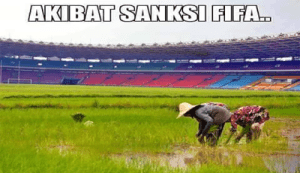 Meme lucu sepak bola indonesia