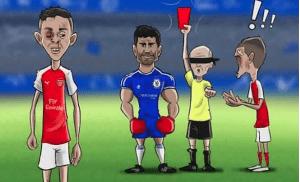 Meme sepak bola kocak terbaru