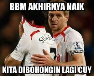 Meme sepak bola lucu