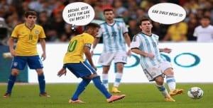 Meme sepak bola lucu terbaru