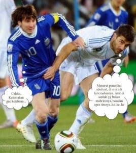 Meme sepak bola terbaru