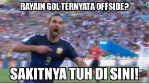 Meme seputar sepak bola paling lucu