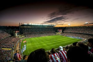 Stadium vicente calderon atletico madrid