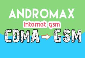Trik menggunakan internet gsm hp andromax