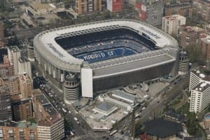 stadium santiago bernabeu real madrid cf