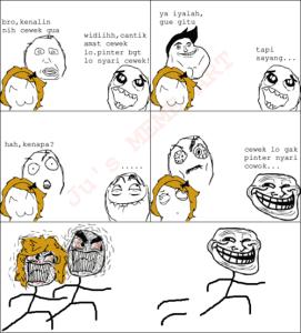 Dp bbm meme comic bergerak