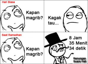 Dp bbm meme komik bulan ramadhan