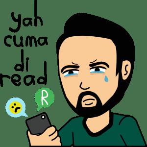 Meme bbm cuma di read