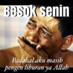 Kumpulan Meme Hari Senin Lucu Kocak Gokil Terbaru, Buat DP BBM