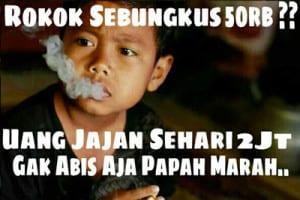 Meme rokok 50 ribu lucu terbaru