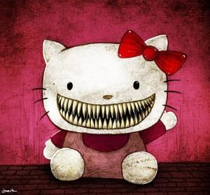 dp-bbm-hello-kitty-bergerak-lucu