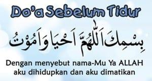 kata-doa-sebelum-tidur